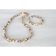Special Design Amber Necklace and Bracelet Set ST147