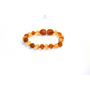 Raw Baltic Amber Child Teething Bracelets