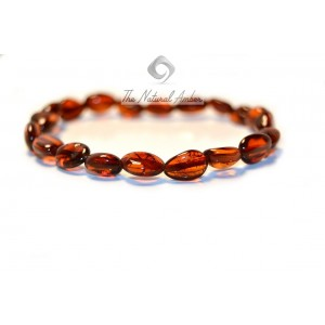 Olive (Bean) Baby Teething Bracelets S7