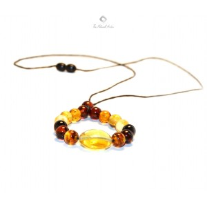 MN160 Amber Mothers Necklace