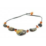 Adult Green Amber Necklace N185