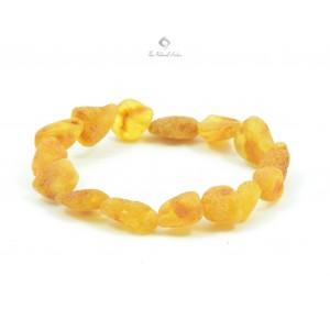 Unpolished Adult Amber Bracelets W131