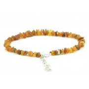 Amber Pet Collar with Adjustable Chain P103