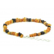 Baltic Amber Pet Necklace with Adustable Chain P104