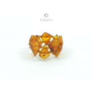 Raw Amber Rings R110