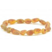 Raw Bean (Olive) Amber Adult Bracelets L10