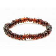 L12 Half Baroque Amber Adult Bracelets
