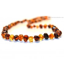 Baroque Mix Amber Adult Necklaces A3