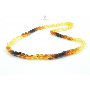 Adult Snake Amber Necklace N137