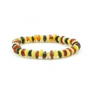 Half Baroque Amber Teething Bracelets S11