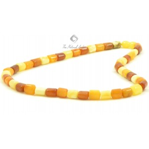 M4 Multicolor Amber Necklace for Men