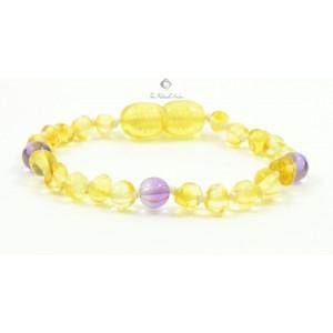 Amber Gemstone Teething Bracelet