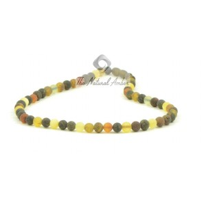 M16 Raw Multi Amber Necklace
