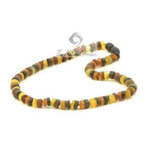 B19 Tablet Amber Baby Teething Necklaces