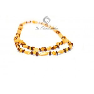 Adult Multicolor Amber Necklace N128