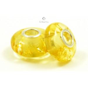 Lemon Amber Pandora Bead PB102