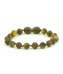 Round Amber Teething Bracelet S21
