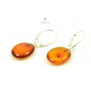 Amber Drop Earrings E107