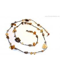 Adult Amber Belt Necklace N166