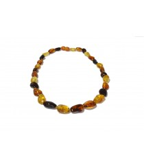 Adult Multi Amber Necklace N169