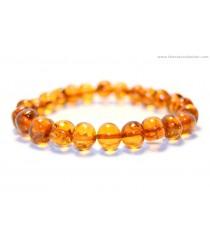 L1 Baroque Amber Adult Bracelets