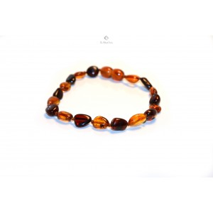 Olive Mix Amber Bracelet for Adults L8-1O
