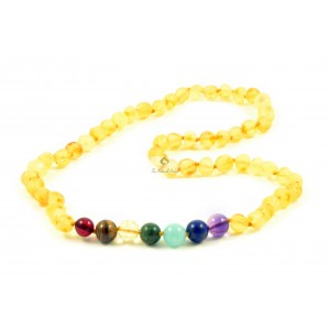 Amber Gemstone Adult Necklaces