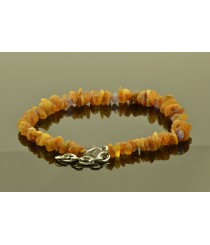 Amber and Gemstone Pet Collars on Adjustable Chain P110
