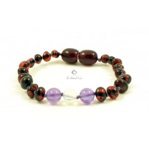 Amber Opalite Teething Bracelet