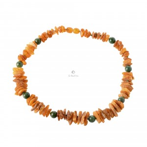Amber Pet Collar with Screw Clasp