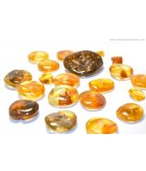 P160 Amber Pendant Amulet