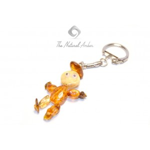 Amber Key Pendant S106