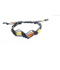 W135 Multicolor Amber Bracelet