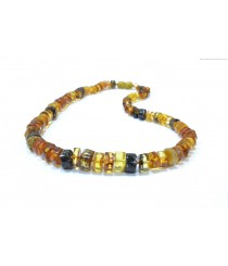 Adult Green Amber Necklace N196
