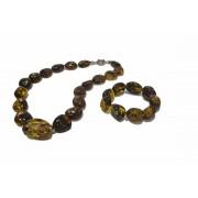 Amber Bracelet and Necklace SET ST140
