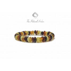 Half Baroque Amber Adult Bracelets L12