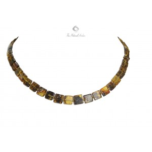Amber Plates Necklaces for Adults N112